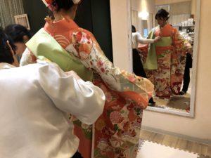 奈良 生駒市 美容室 着付け